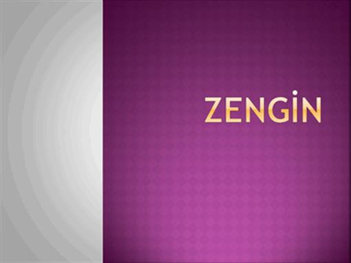 Zengin