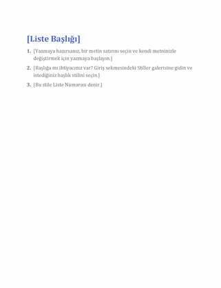 Temel liste