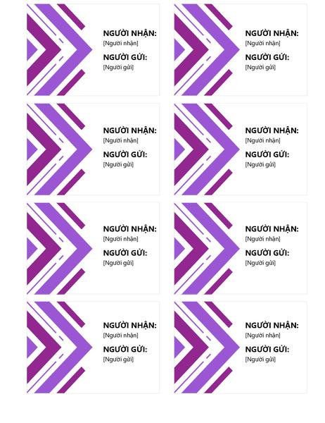Nhãn quà tặng (8 nhãn mỗi trang)