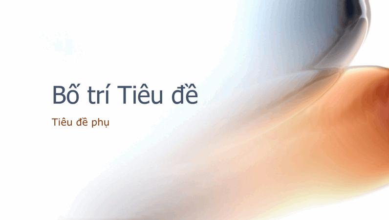 Trang chiếu thiết kế trừu tượng u sầu
