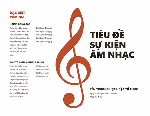 Chương trình âm nhạc