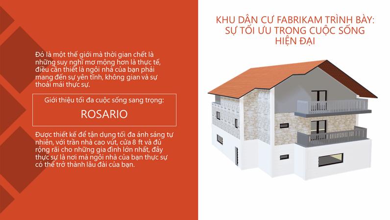 Khu dân cư Fabrikam - Đỉnh cao của cuộc sống hiện đại