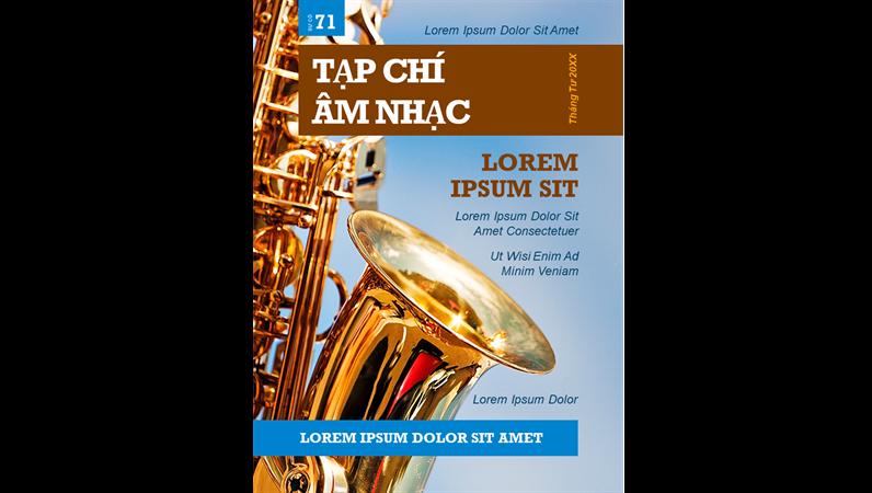 Bìa tạp chí âm nhạc