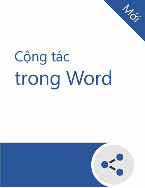 Cộng tác trong hướng dẫn về Word