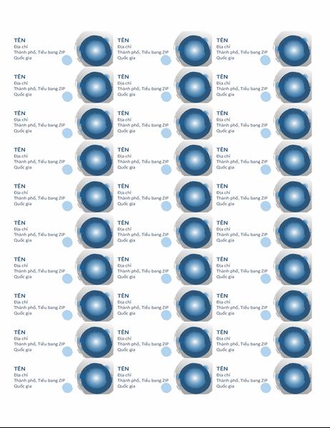 Nhãn cầu xanh lam (30 trên mỗi trang)