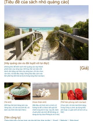 Sách nhỏ quảng cáo du lịch