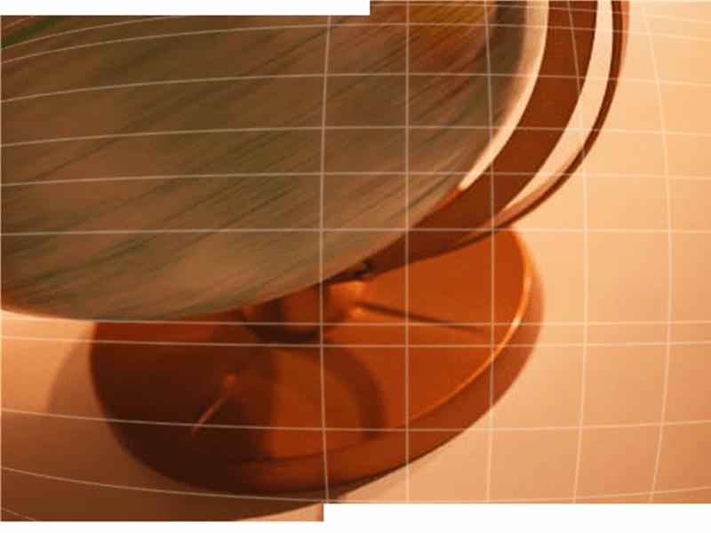 旋转的地球仪设计模板