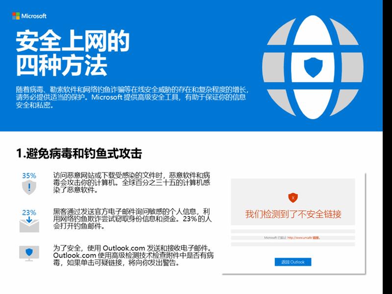 安全上网的四种方法