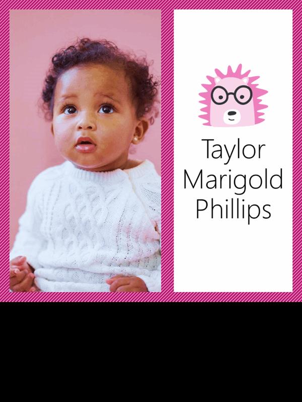 婴儿照片拼贴画专辑