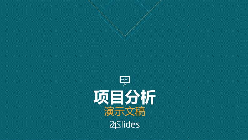 项目分析,来自 24Slides