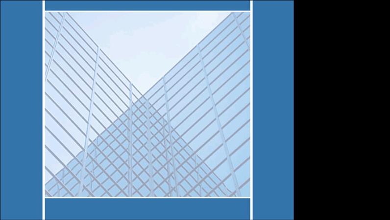 鏡射建築物設計範本