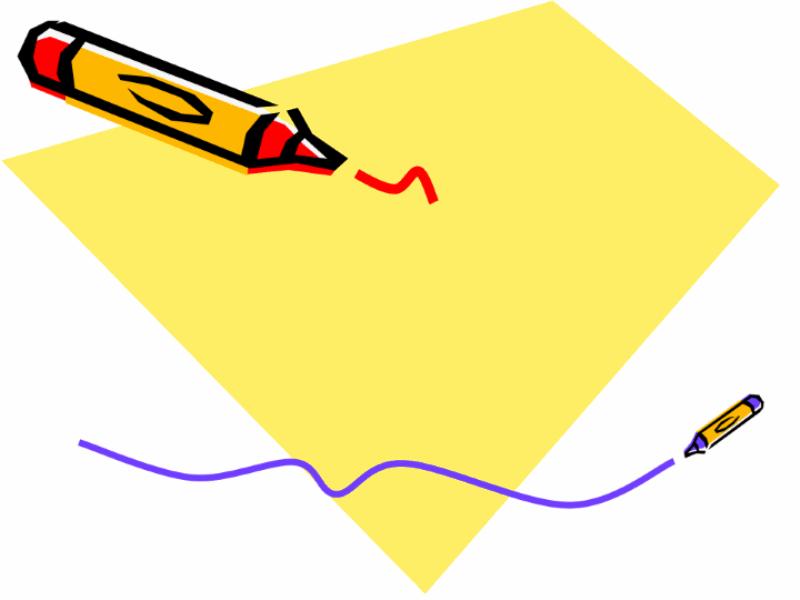 蠟筆設計範本
