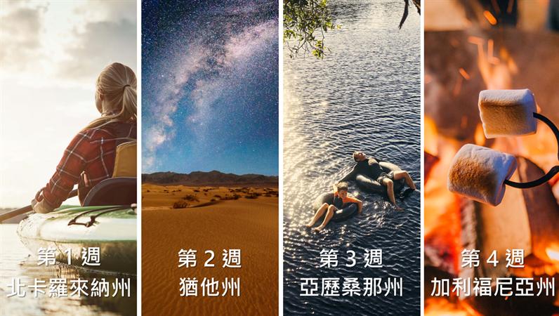 旅行相片時間表