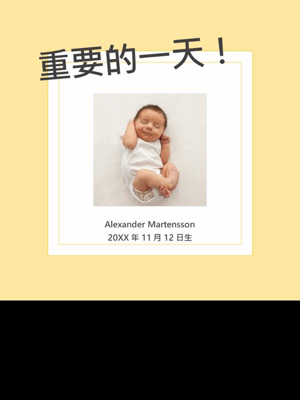 嬰兒里程碑相簿